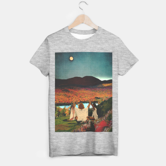 Thumbnail image of A landscape Camiseta Regular, Live Heroes