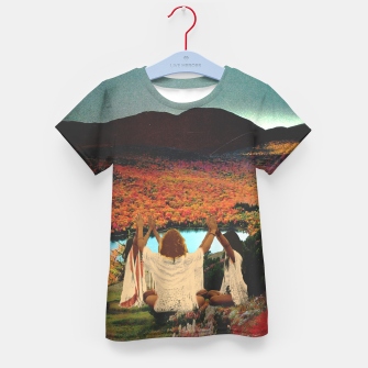 Thumbnail image of A landscape Camiseta para niños, Live Heroes