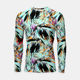 Thumbnail image of Birds on leaf 2 Longsleeve rashguard, Live Heroes
