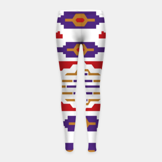 Thumbnail image of The Fruit of the Man Girl's leggings, Live Heroes
