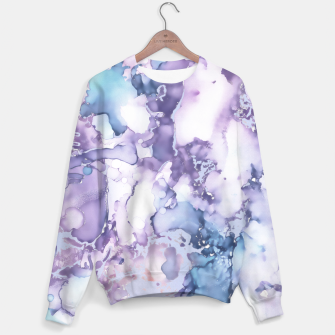 Imagen en miniatura de Painted Marble Cotton sweater, Live Heroes