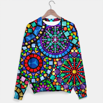 Thumbnail image of Cheerful Circles 2 Cotton sweater, Live Heroes