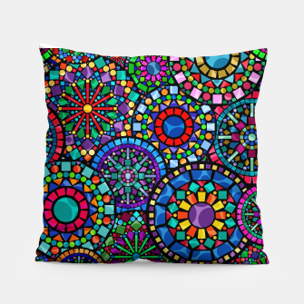 Thumbnail image of Cheerful Circles 2 Pillow, Live Heroes