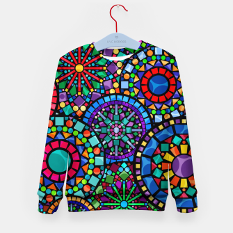 Thumbnail image of Cheerful Circles 2 Kid's sweater, Live Heroes