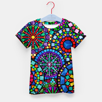 Thumbnail image of Cheerful Circles 2 Kid's t-shirt, Live Heroes