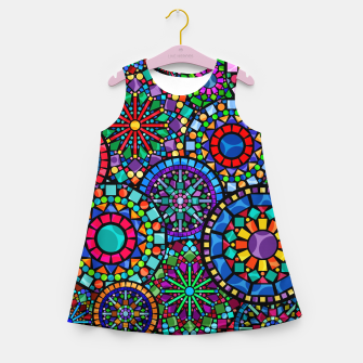 Thumbnail image of Cheerful Circles 2 Girl's summer dress, Live Heroes