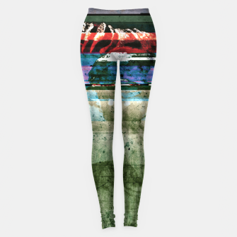 Miniatur Virtual Ghosts Leggings, Live Heroes
