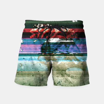 Miniatur Virtual Ghosts Swim Shorts, Live Heroes