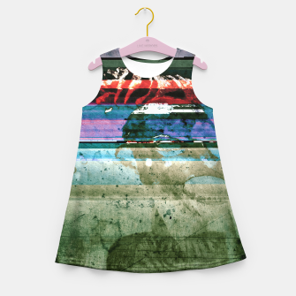 Miniatur Virtual Ghosts Girl's summer dress, Live Heroes