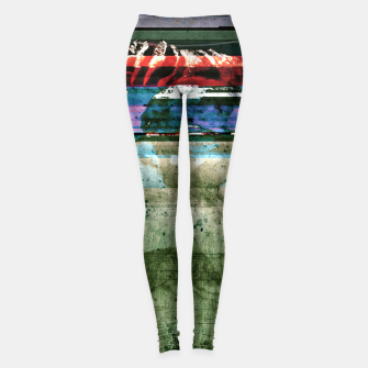 Thumbnail image of Virtual Ghosts Leggings, Live Heroes
