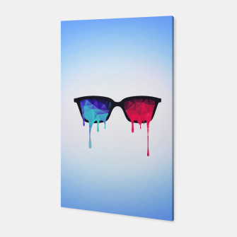 Miniature de image de  3D Psychedelic / Goa Meditation Glasses Canvas, Live Heroes