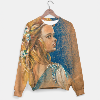 Thumbnail image of flowergirl yuliakorneva v1 Cotton sweater, Live Heroes