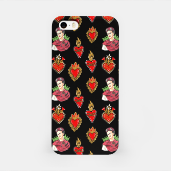 Thumbnail image of Frida and sacred heart Carcasa por Iphone, Live Heroes
