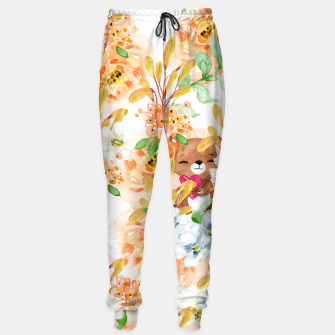 Thumbnail image of Valentines Bears Cotton sweatpants, Live Heroes
