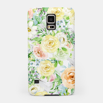 Thumbnail image of Bloom Strong | Spring Floral Pattern Samsung Case, Live Heroes