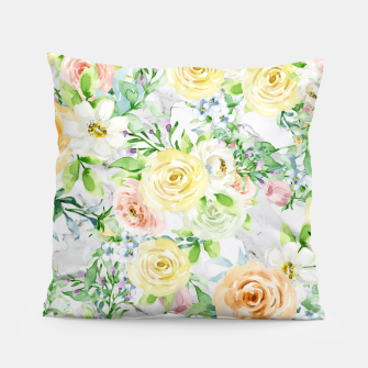Thumbnail image of Bloom Strong | Spring Floral Pattern Pillow, Live Heroes