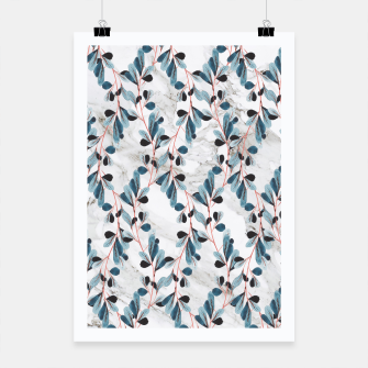 Thumbnail image of Botanical Marble Poster, Live Heroes