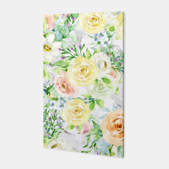 Thumbnail image of Bloom Strong | Spring Floral Pattern Canvas, Live Heroes