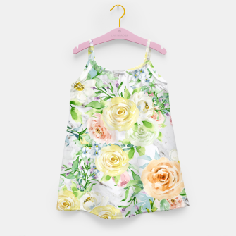 Thumbnail image of Bloom Strong | Spring Floral Pattern Girl's dress, Live Heroes