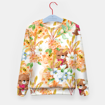 Thumbnail image of Valentines Bears Kid's sweater, Live Heroes