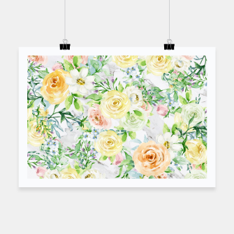 Thumbnail image of Bloom Strong | Spring Floral Pattern Poster, Live Heroes