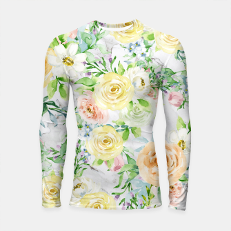 Thumbnail image of Bloom Strong | Spring Floral Pattern Longsleeve rashguard , Live Heroes
