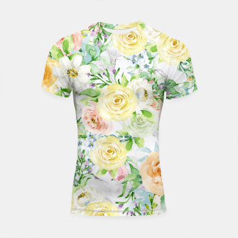 Thumbnail image of Bloom Strong | Spring Floral Pattern Shortsleeve rashguard, Live Heroes