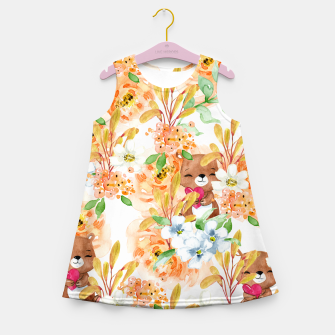 Thumbnail image of Valentines Bears Girl's summer dress, Live Heroes