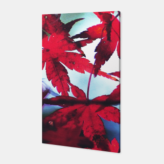 Thumbnail image of Red leaves Canvas, Live Heroes