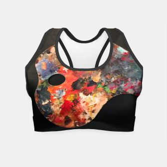 Thumbnail image of Painting_Palette_Crop_Top_Black, Live Heroes