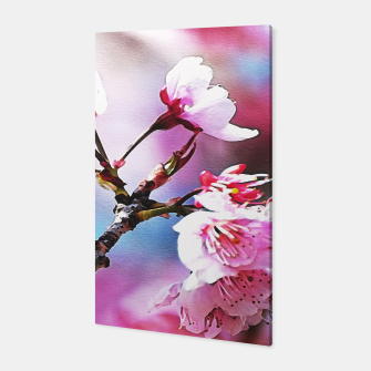 Thumbnail image of Pink blossoms Canvas, Live Heroes