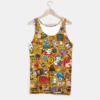 Thumbnail image of Retropop Tank Top, Live Heroes