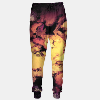 Thumbnail image of A repeated immersion Cotton sweatpants, Live Heroes