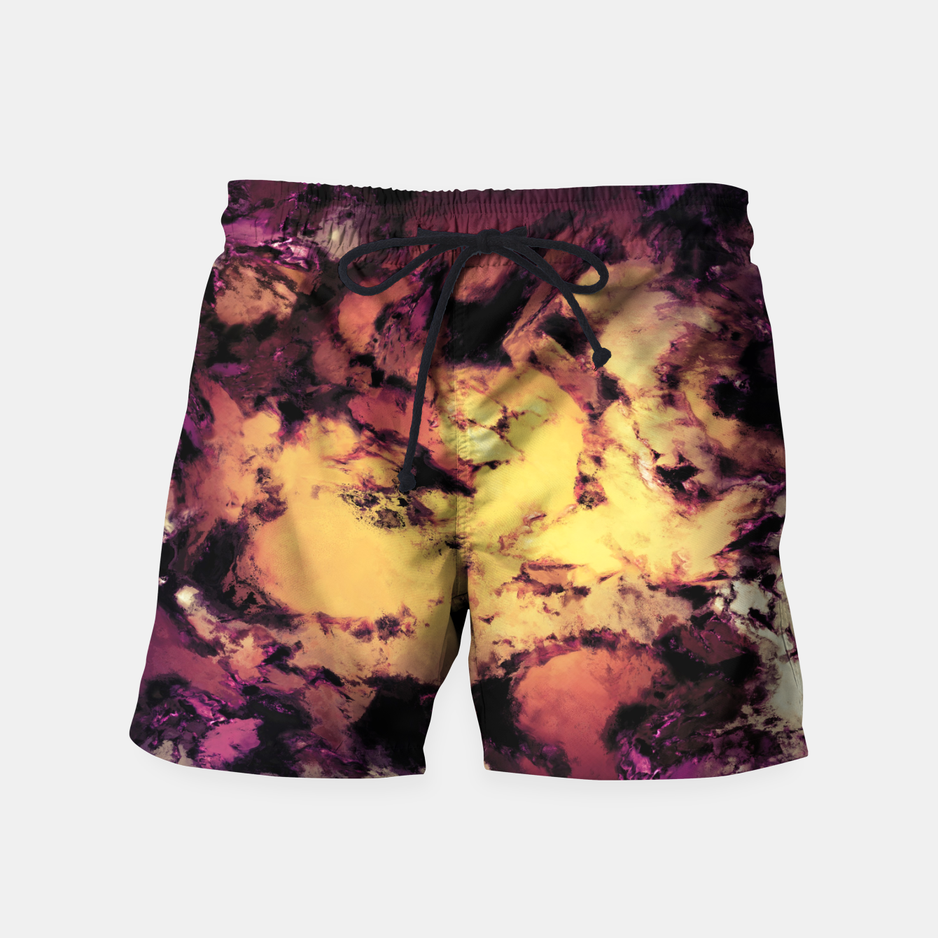 Image of A repeated immersion Swim Shorts - Live Heroes