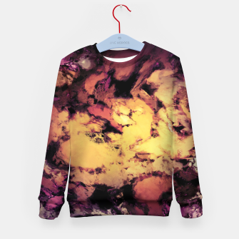 Thumbnail image of A repeated immersion Kid's sweater, Live Heroes