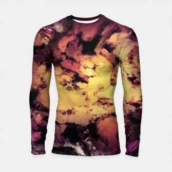 Thumbnail image of A repeated immersion Longsleeve rashguard , Live Heroes