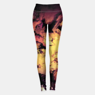 Thumbnail image of A repeated immersion Leggings, Live Heroes