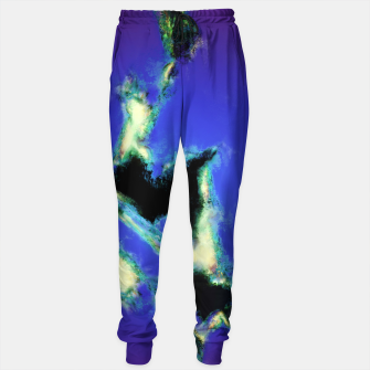 Thumbnail image of A working blue engine Cotton sweatpants, Live Heroes