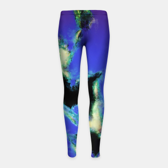 Thumbnail image of A working blue engine Girl's leggings, Live Heroes