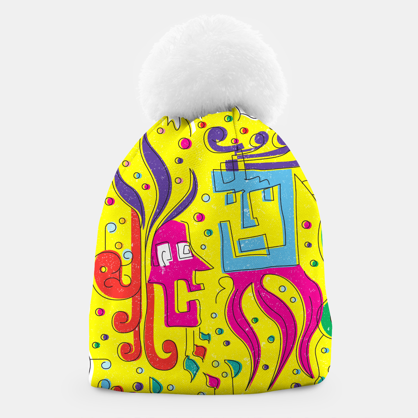 Image of Weird Characters Beanie - Live Heroes