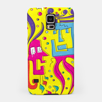 Weird Characters Samsung Case thumbnail image