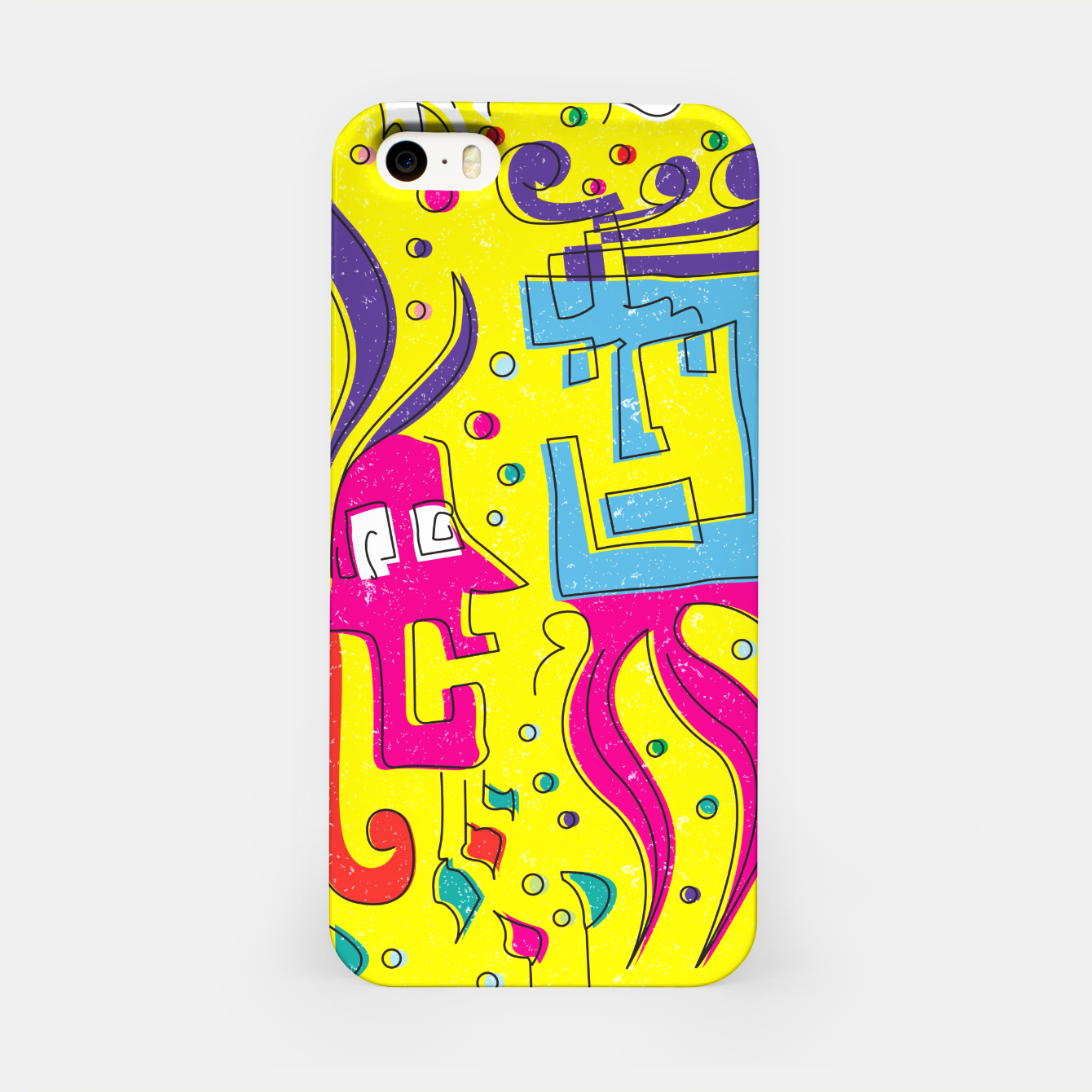 Image of Weird Characters iPhone Case - Live Heroes