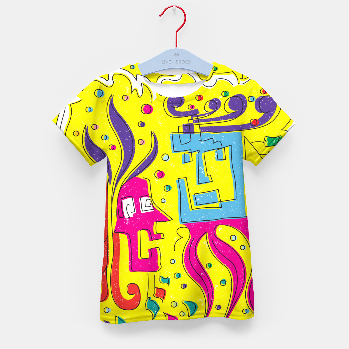 Image of Weird Characters Kid's t-shirt - Live Heroes