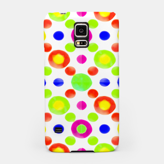 Thumbnail image of Multicolored Circles Motif Pattern Samsung Case, Live Heroes