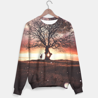 Miniature de image de Exoplanet Cotton sweater, Live Heroes