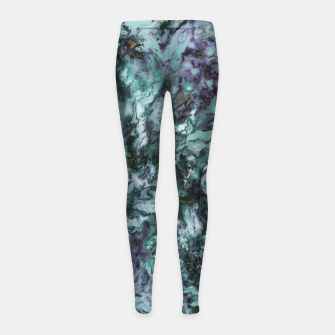 Thumbnail image of Abrasives Girl's leggings, Live Heroes