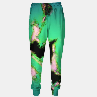 Thumbnail image of A working turquoise engine Cotton sweatpants, Live Heroes