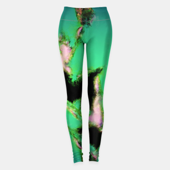 Thumbnail image of A working turquoise engine Leggings, Live Heroes