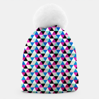 Thumbnail image of Triangle Pattern – Beanie, Live Heroes