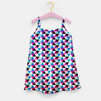 Triangle Pattern – Girl's dress thumbnail image